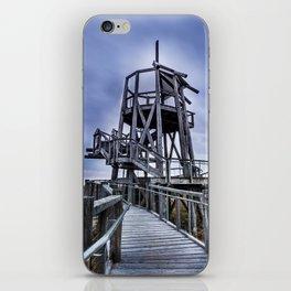 Observation Tower - Great Salt Lake Shorelands Preserve - Utah iPhone Skin
