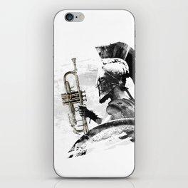 Trumpet Warrior iPhone Skin
