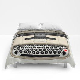 Vintage Typewriter Comforters