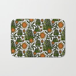 Sunflower City Bath Mat