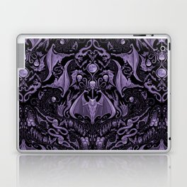 Bats and Beasts - ROYAL PURPLE Laptop & iPad Skin