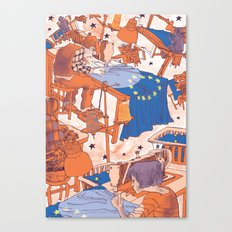 European Journal #1 Canvas Print