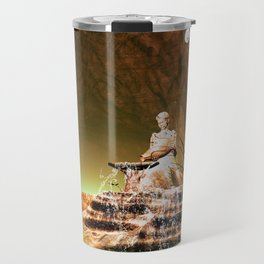The mysterious underwater cave Travel Mug