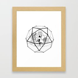 Terrarium Queen Framed Art Print
