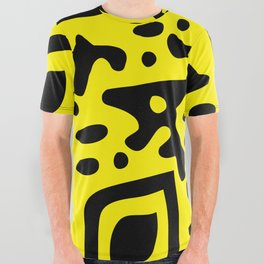 QR Clothes Yellow - Accessories All Over Graphic Tee