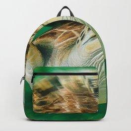 Underwater Blue Ocean Backpack