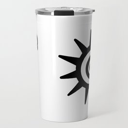 Kokopelli - Native American Abundance Travel Mug