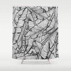 Black & White Jungle #society6 #decor #buyart Shower Curtain