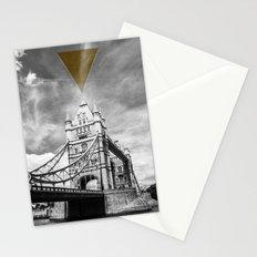 something unusual happened at Tower Bridge Stationery Cards