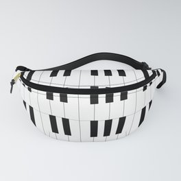 Piano Key Stripes Fanny Pack