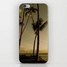 Barcos de Maui iPhone Skin