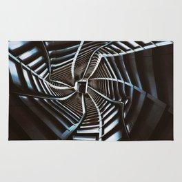 Twisted Cyberpunk Tunnel Rug