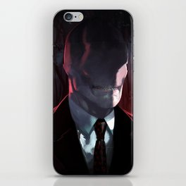 Slender Man iPhone Skin