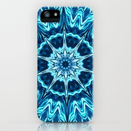 Psychedelic Blues iPhone Case