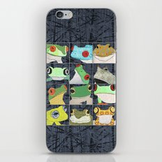 Frogs vertical iPhone & iPod Skin