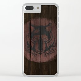 Wolf Shield Clear iPhone Case