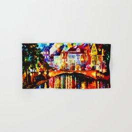 Tardis Art Painting At The Bridge Hand & Bath Towel