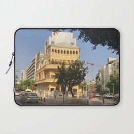 Tel Aviv Pagoda House - Israel Laptop Sleeve
