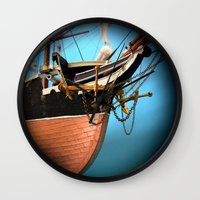 alabama Wall Clocks featuring Alabama -zvonekmakete by Bitifoto