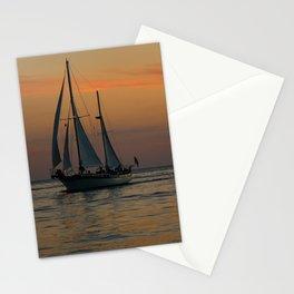 Sunset Sailing Stationery Cards