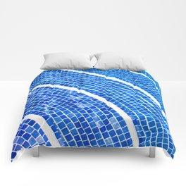 Swimming pool line Comforters