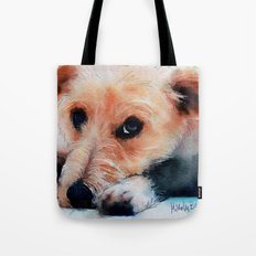 Toffee dog Tote Bag