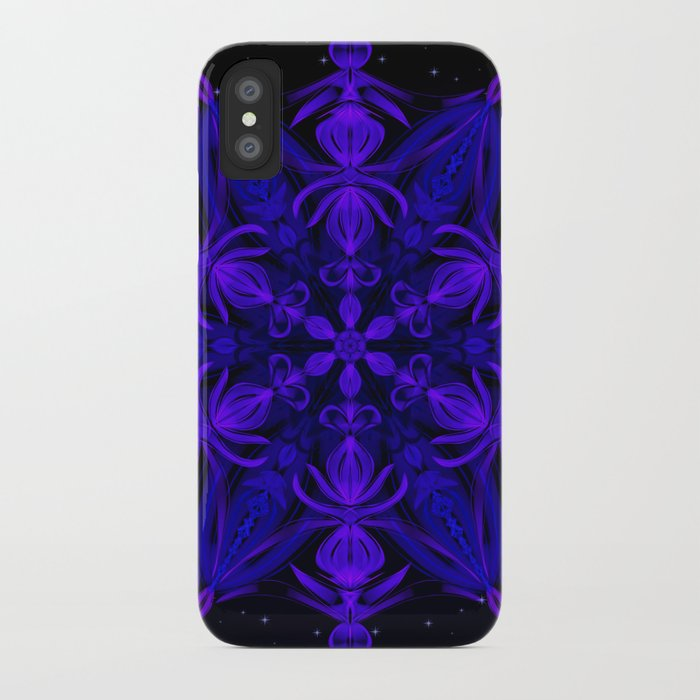 Crystal Blossom Adrift iPhone Case