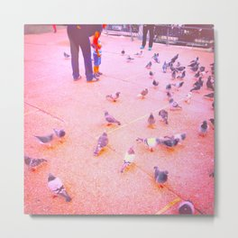 World of Birds and Possibilities Metal Print