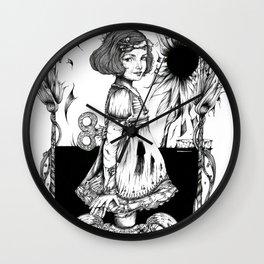 LA DANSE DES MEDUSES Wall Clock
