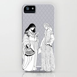 Roman Sisters iPhone Case