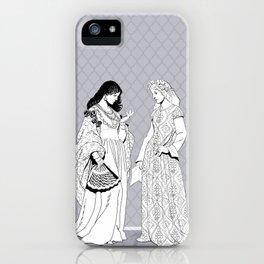 Roman Sisters iPhone Case