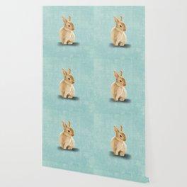 Portrait of a little bunny Wallpaper