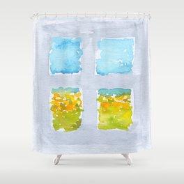 Window No6 Shower Curtain