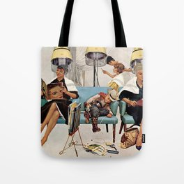 Retro Beauty Salon Tote Bag