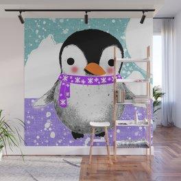 Baby Penguin Wall Mural