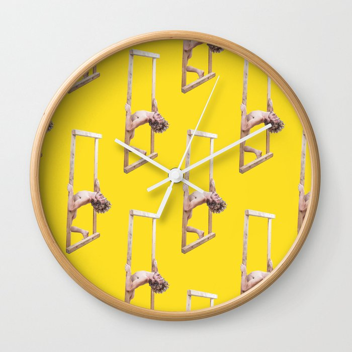 NudeTexture S01S18 Wall Clock