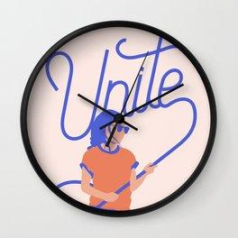 Unite Wall Clock
