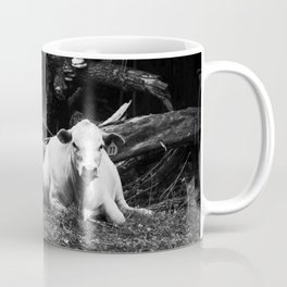 cows in virginia (by the creek, near our house) Mug