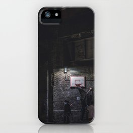 Street Basketball in Camden Town iPhone Case