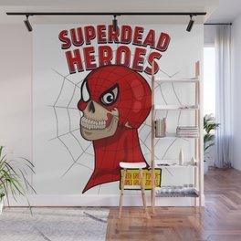 Superdead heroes: spider-dead Wall Mural
