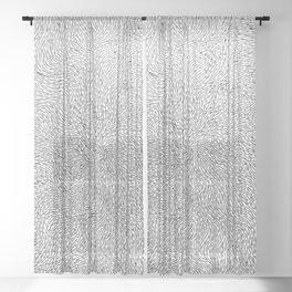 Turbulence 3 Sheer Curtain