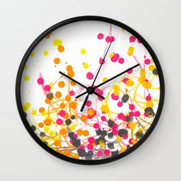 Spring Seeds Wall Clock