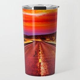 Desert Sunrise, Big Bend, Texas Travel Mug