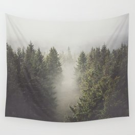 My misty way - Landscape and Nature Photography Wall Tapestry