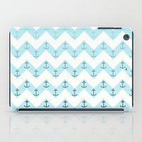 anchors iPad Cases featuring Anchors by Mercedes Lopez