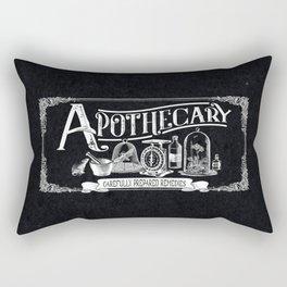 Carefully Prepared Remedies Rectangular Pillow