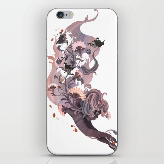 Luckless (Lavender) iPhone & iPod Skin