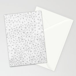 a lot of triangles Stationery Cards