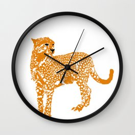 Mighty Cheetah  Wall Clock