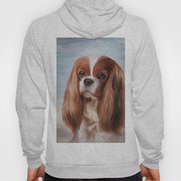 Drawing Dog breed Cavalier King Charles Spaniel Hoody